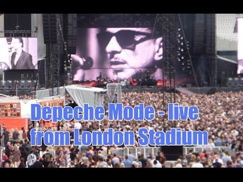 Depeche Mode - Highlights of Spirit Tour live from London's Olympic Stadium June 2017