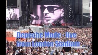 Depeche Mode - Highlights of Spirit Tour live from London's Olympic Stadium June 2017