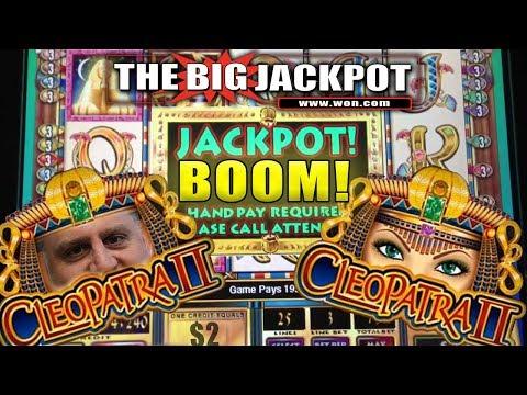 🔥CLEOPATRA 2 🔥13 FREE GAMES JACKPOT!! | The Big Jackpot