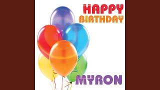 Happy Birthday Myron