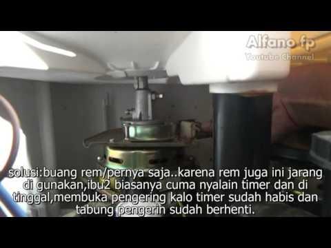 Memperbaiki Mesin Cuci Pengering Berputar Pelan