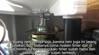 Memperbaiki Mesin Cuci Pengering Berputar Pelan #1