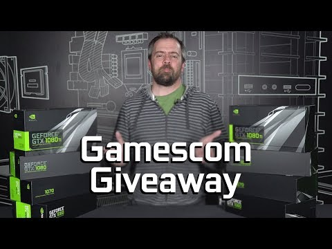 Win TWO GeForce GTX 1080 Ti cards - Our Gamescom Giveaway!