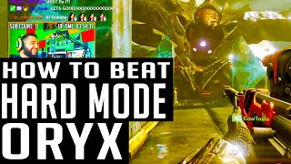 Destiny How to Beat Oryx Hard Mode | Kings Fall Raid Hard Mode