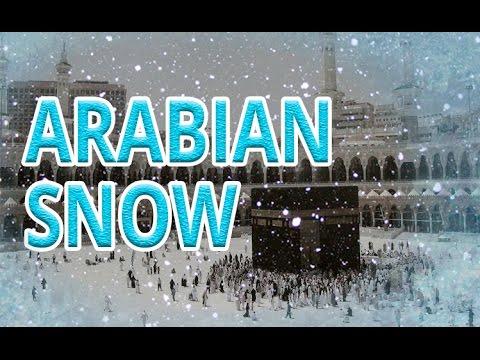 BREAKING NEWS - SNOW IN SAUDI ARABIA  الثلوج في جزيره العرب