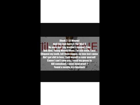 Lil Wayne - Fireworks - Lyrics - ft. Young Jeezy