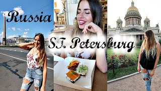 My First Day In RUSSIA // St. Petersburg Travel Vlog