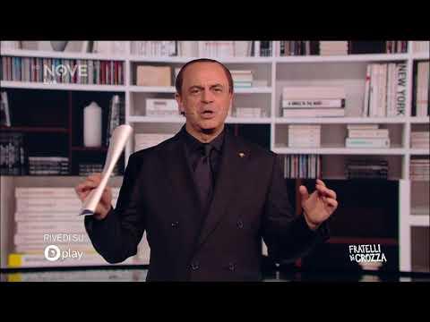 """Crozza, Berlusconi sempre più confuso sul ruolo del """"regista"""" del centrodestra"""
