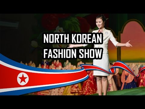 North Korean Fashion Show