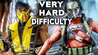 MORTAL KOMBAT 11 Gameplay Very Hard Difficulty Scorpion Vs Kabal