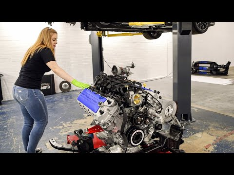 PUTTING MY FORD SHELBY GT350 ENGINE BACK TOGETHER!
