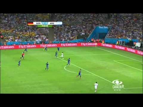Gol Alemania vs Argentina