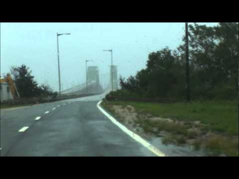 Hurricane Irene Long Island (Brightwaters Canal and Great South Bay Robert Moses Bridge)