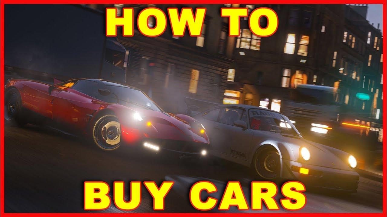 Forza Horizon 4: How to Buy Cars
