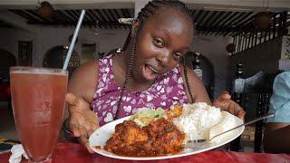 MOMBASA STREET FOOD YULS RESTAURANT BARKA COAST MOMBASA SWAHILI DISHES HOTEL REVIEW