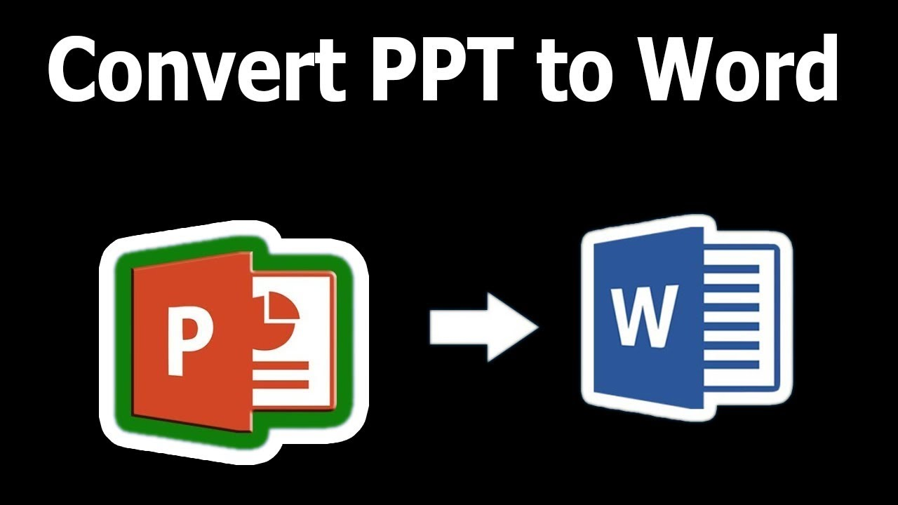 convert ppt to word online free