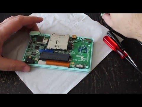 SparkFun Nintendo DS Touch Screen - YouTube