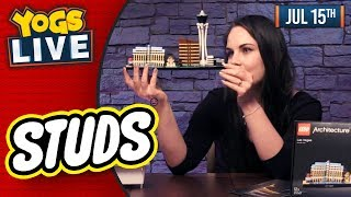 LEGO STUDS: LAS VEGAS SKYLINE & BIG BEN BUILD BUILD w/ Simon & Nina! - 15/07/19