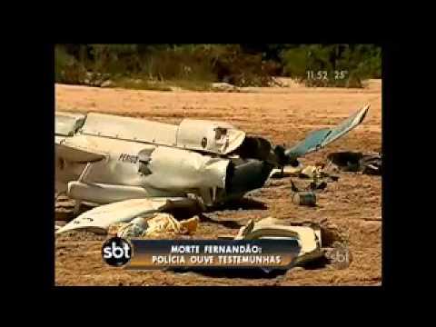 Polícia investiga queda de helicóptero que matou Fernandão