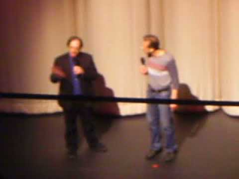 Jerry Beck and Frank Gladstone at the Alex Theater.