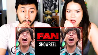 FAN (2016) | Shah Rukh Khan | VFX Showreel | Red Chillies | Reaction | Jaby Koay