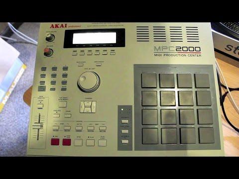 MPC 2000 Tutorial Series Pt.1(Recording samples)