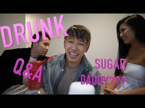 DRUNK Q&A | WHO'S YOUR SUGAR DADDY?? FT. JAY AUTHOR AND EMMA