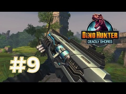 Dino Hunter: Deadly Shores #9- Region 5 Exotic weapons ♫♪|Newbie Gaming