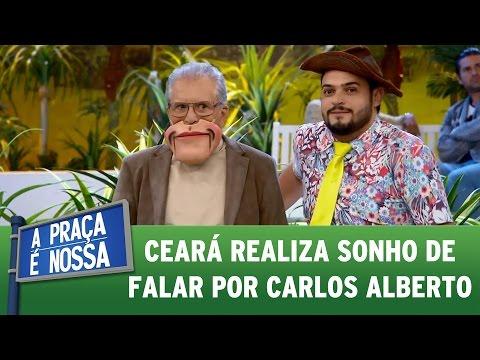 Matheus Ceará realiza sonho de falar por Carlos Alberto | A Praça É Nossa (11/05/17)