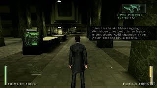 Enter the Matrix PS2 Gameplay HD (PCSX2)