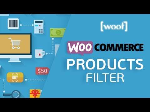 WooCommerce Product Filter by WOOF - Filter by Price, Color, Size, Rating etc. in WordPress - 동영상
