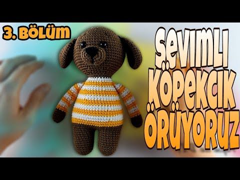 Crochet Amigurumi Puppy Dog – Jack Pup | 360x480