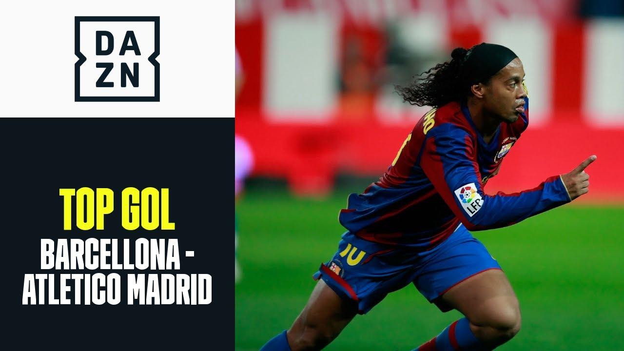 Top Gol Barcellona-Atletico Madrid