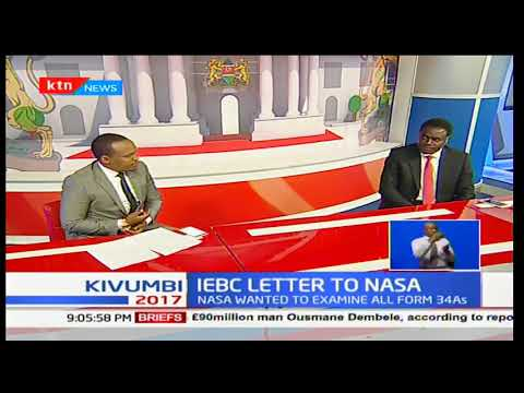 Does IEBC have all forms 34 A collected from the results of the general elections