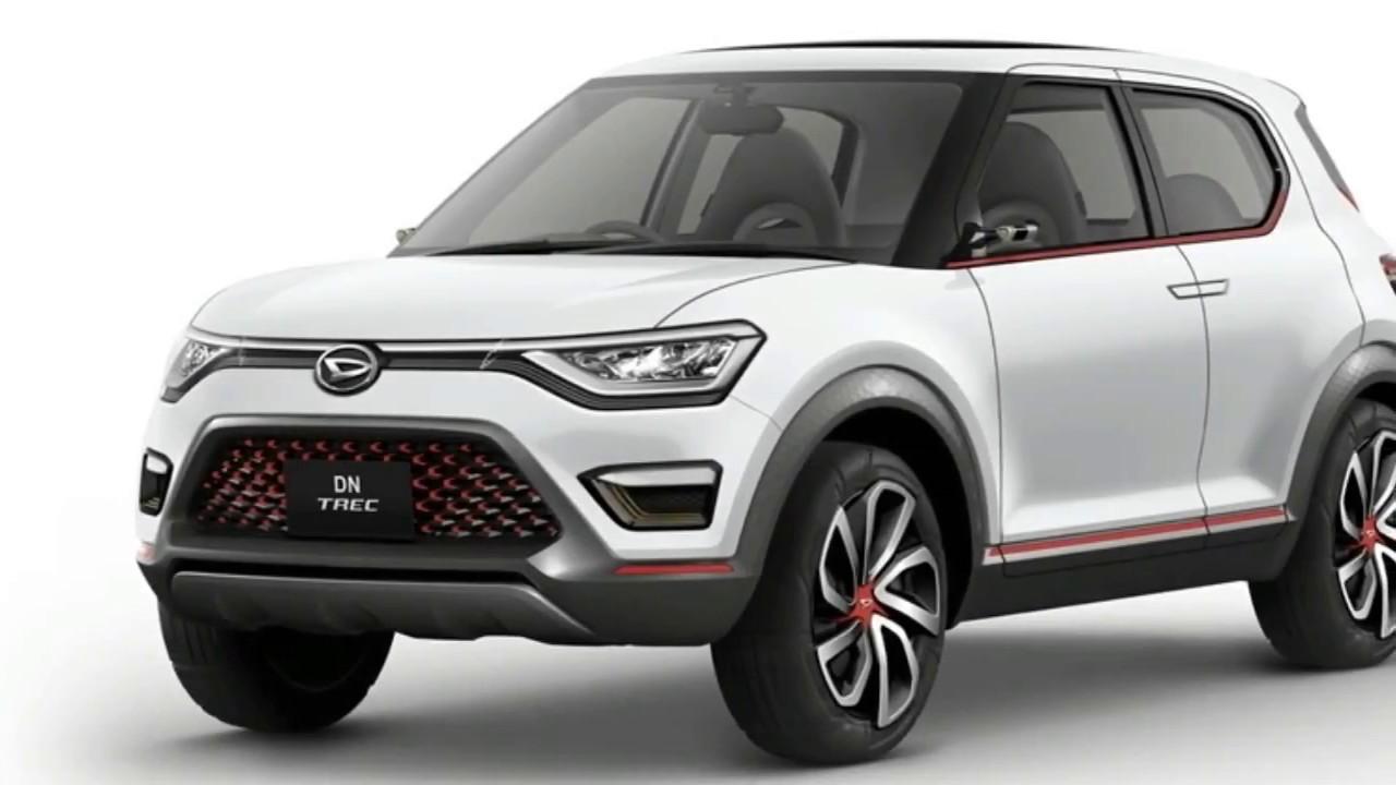 New Concept Daihatsu Dn Trec Compact Suv