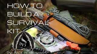 Black Scout Tutorials - How To Build A Survival Kit