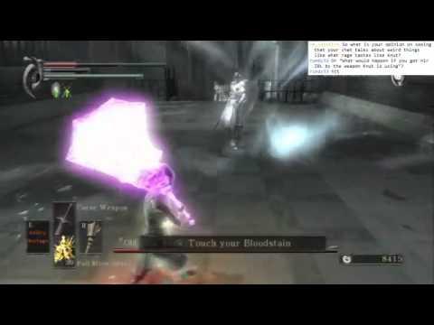 Demon's Souls - False King Allant vs Bramd, no shield