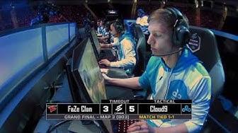 Cloud9 vs FaZe at ELEAGUE Major 2018 Grand Finals Map 3