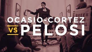 Alexandria Ocasio-Cortez Protests Nancy Pelosi's Office