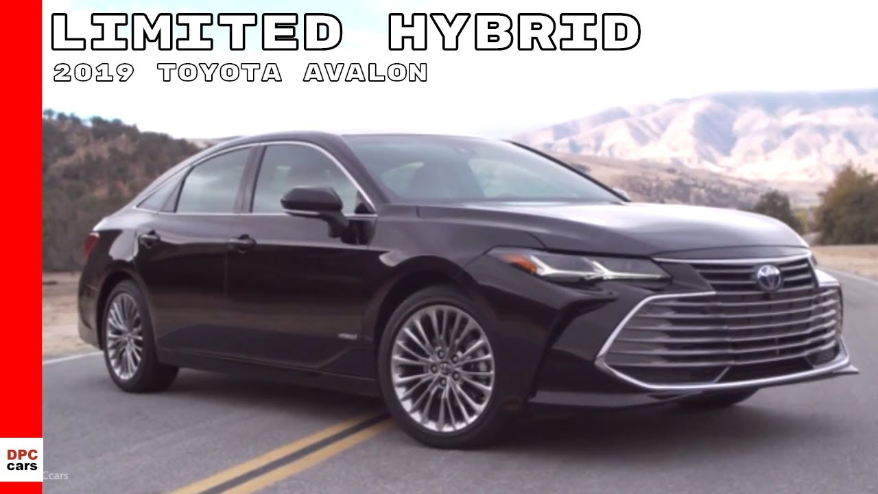 2019 toyota avalon limited hybrid youtube. Black Bedroom Furniture Sets. Home Design Ideas