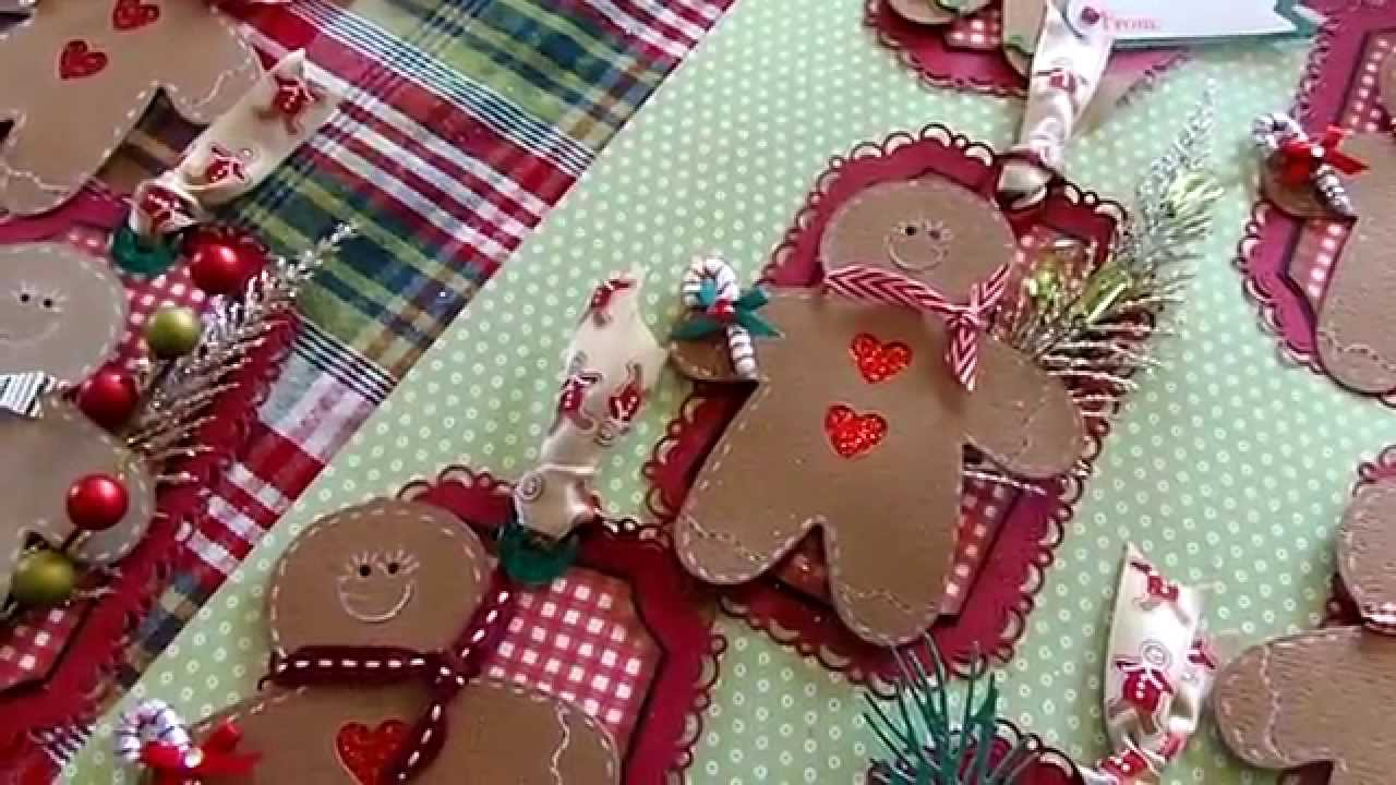 Christmas Gift Tags & Thanks to MsCoopersCoop - YouTube