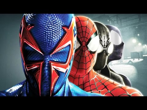 Spider-Man: Shattered Dimensions All Cutscenes (Game Movie)