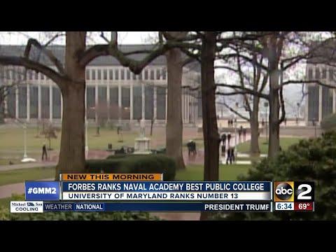 U.S. Naval Academy ranked top public college
