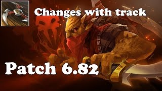 Dota 2 - Patch 6.82 - Bounty Hunter Shuriken Toss now bounces to all Tracked !