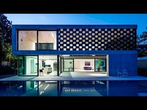 Cubist Modern Contemporary Mashrabiya Style Luxury Residence in Savyon, Tel Aviv, Israel