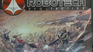 Unboxing Robotech RPG Tactics part 1