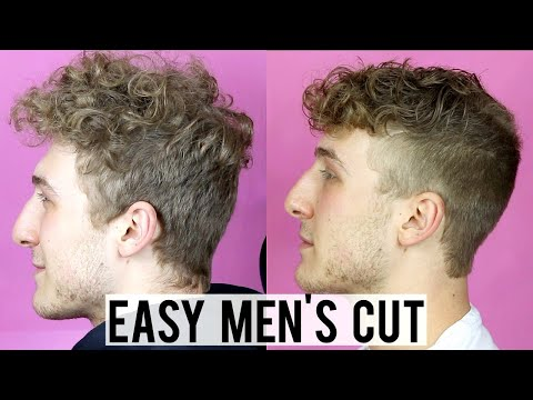 HOW TO CUT YOUR MAN'S HAIR AT HOME | EASY MEN'S HAIRCUT STEP-BY-STEP TUTORIAL