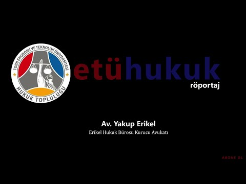 röportaj: bölüm 3 - Av. Yakup Erikel