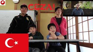 JAPAN REACTION TURKISH RAP!! / / CEZA-TÜRK MARŞI