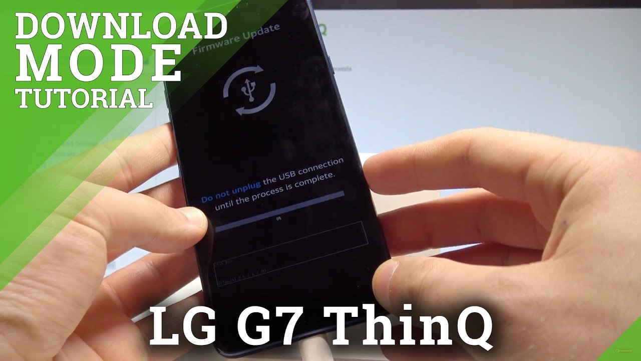 How to Enter Download Mode on LG G7 ThinQ - Exit LG Download |HardReset Info